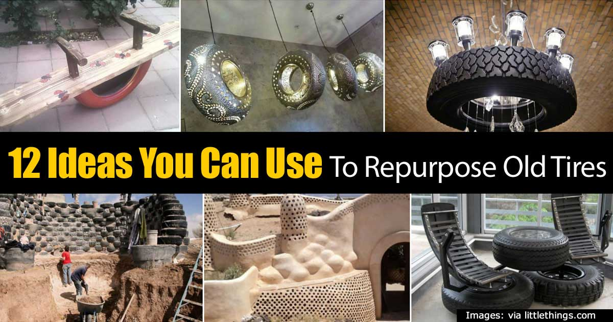 12 ideas you can use to repurpose old tires - What can you do with old tires ...