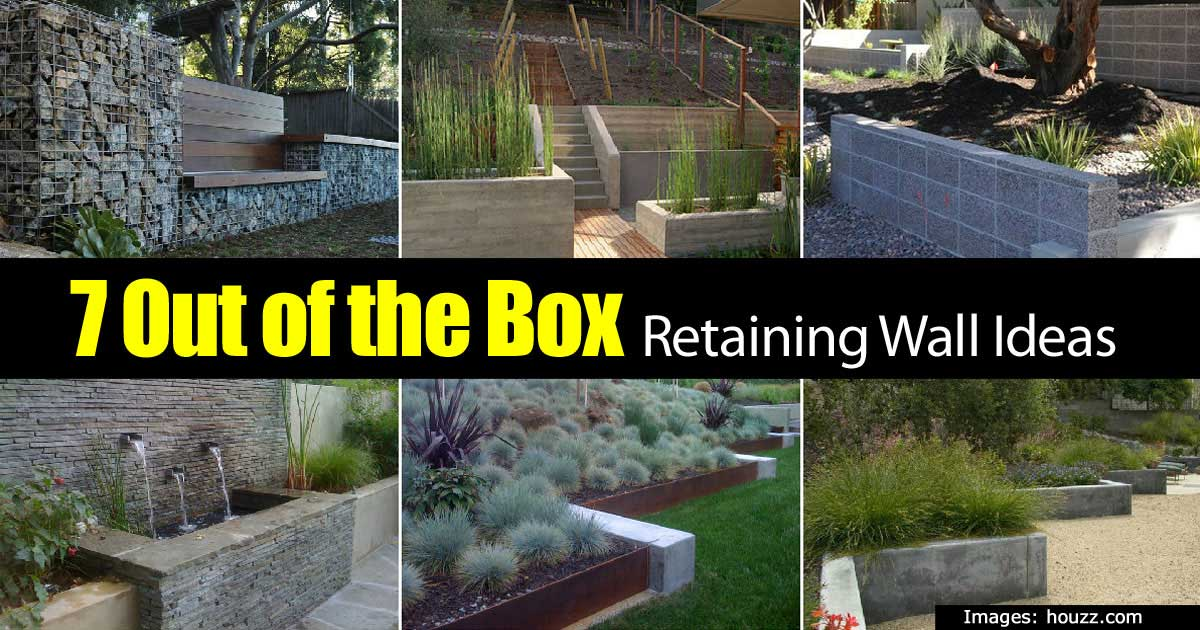 Retaining Wall Designs Ideas