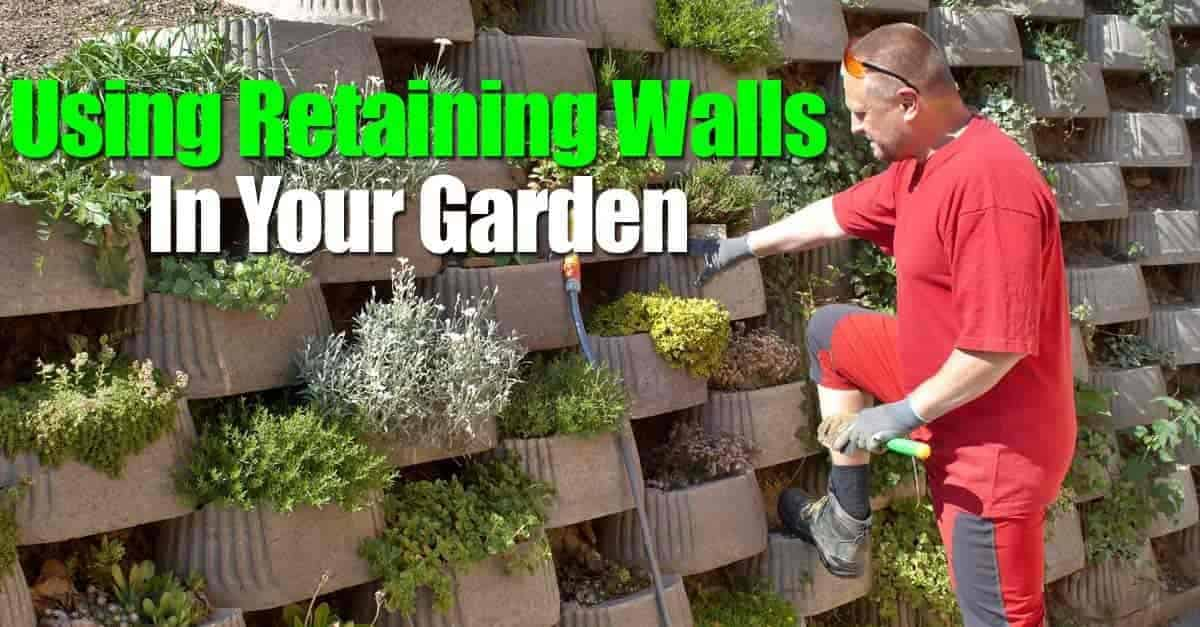 Garden And Retaining Walls Were Originally The True Walls Of Stone, Brick  Or Other Similar Material (as Distinguished From Fences) Built Around A  Garden Or ...