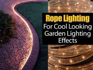 Smart garden bed rope lighting tip