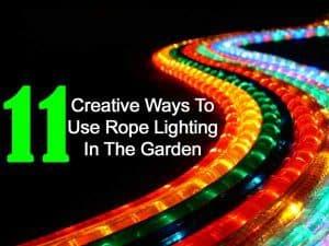 rope lighting ideas