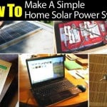 How To Make A Simple Home Solar Power System