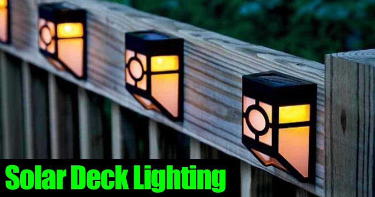 Landscape And Deck Solar Post Lighting All Automatic