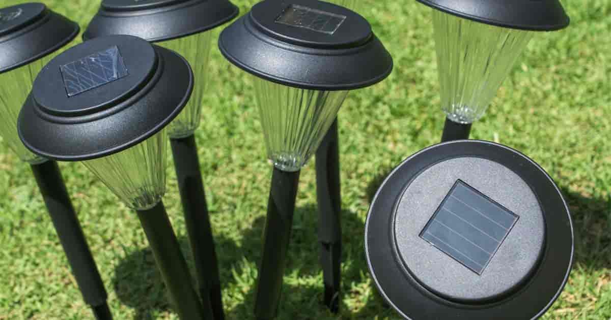 Use solar powered landscape lighting for adding beauty to the garden