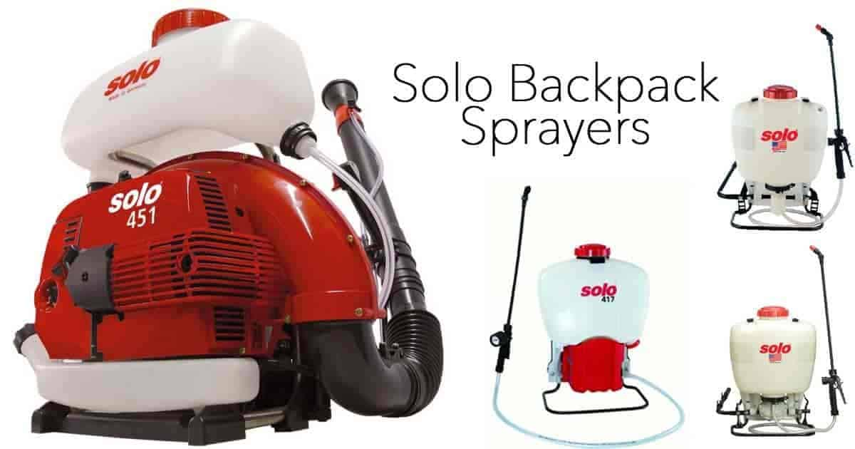 4 Best Solo Backpack Sprayers - Which One Is Best For You?