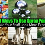 33 Ways To Use Spray Paint To Make Your Stuff Look More Expensive