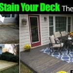 How To Stain Your Deck – The Easy Way