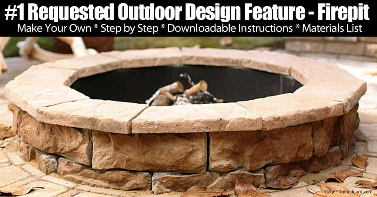 fire ring flagstone patio designs top 7 reasons for adding an outdoor fire pit to your backyard