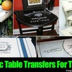 12 Terrific Table Transfers For The DIY'er