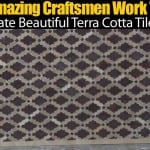 Watch Amazing Craftsmen Work Together To Create Beautiful Terra Cotta Tile Work