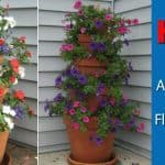 How To Make A Terra Cotta Clay Pot Flower Tower Planter