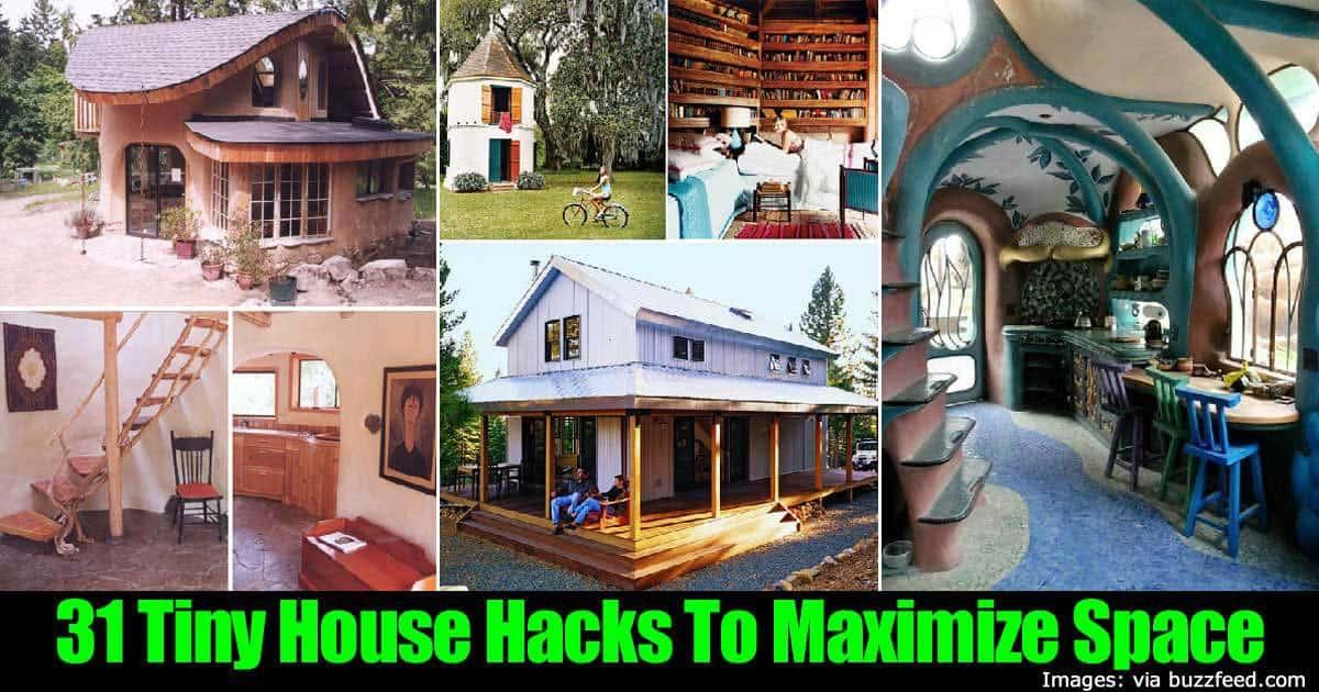 31 tiny house hacks to maximize space