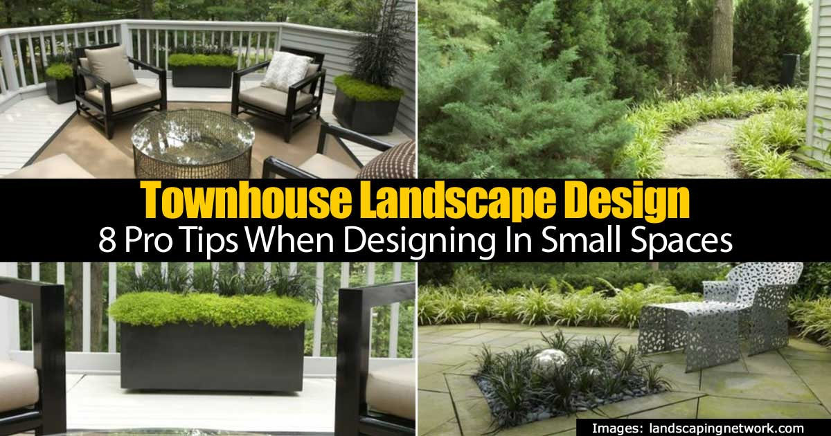 Townhouse landscape design 8 pro tips when designing in for Townhouse garden design ideas