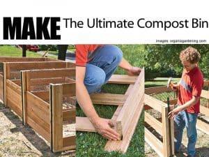 building a compost bin