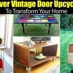 Clever Vintage Door Epicycles To Transform Your Home