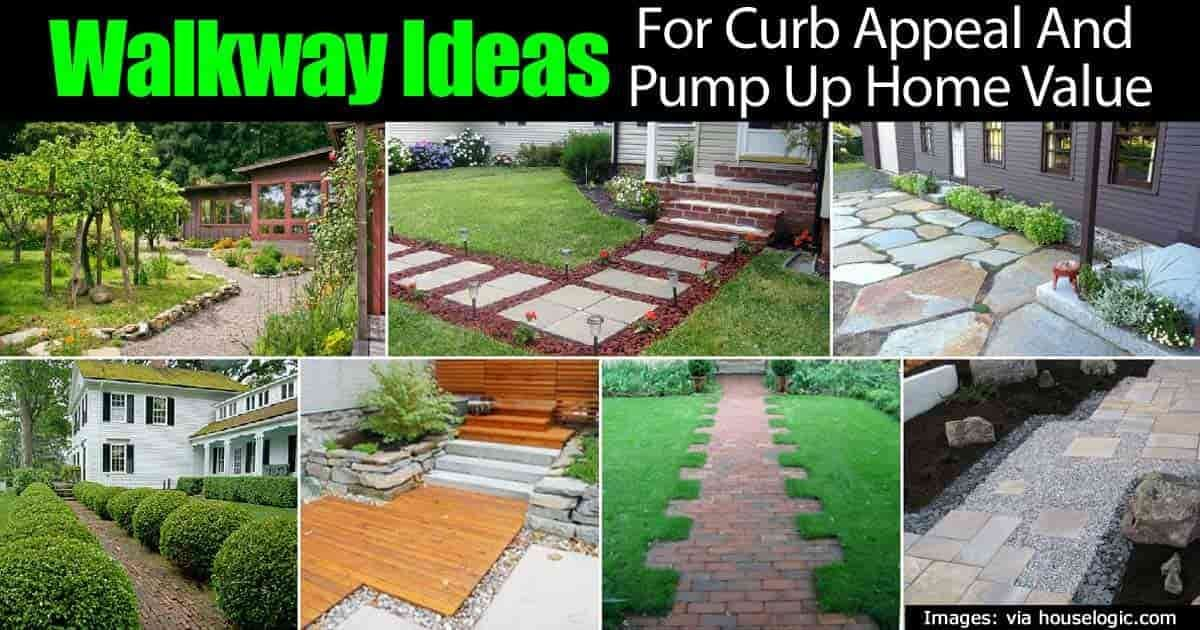 Smart Walkway Ideas For Pumping Up Curb Appeal