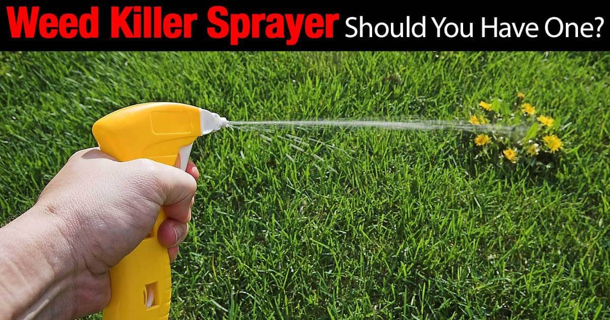 weed sprayer to kill weeds on sideways, along fences