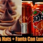 Witches Hats + Fanta Can Luminaries