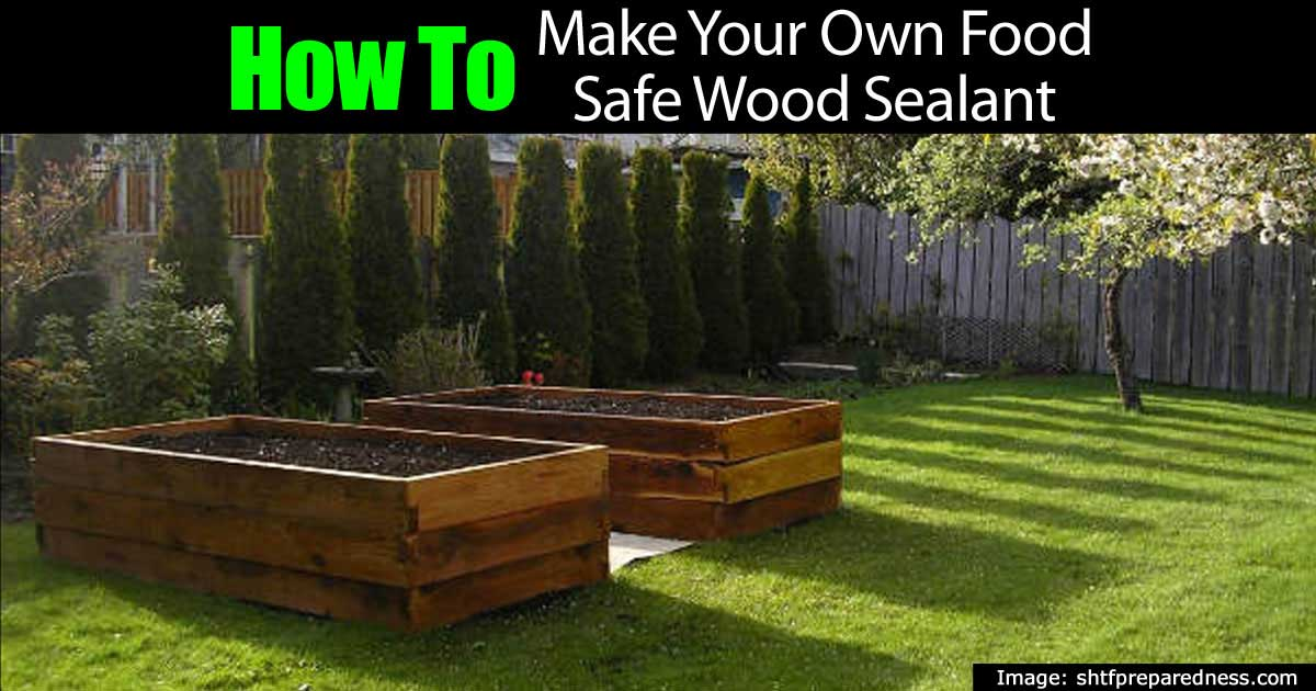 How To Make Your Own Food Safe Wood Sealant